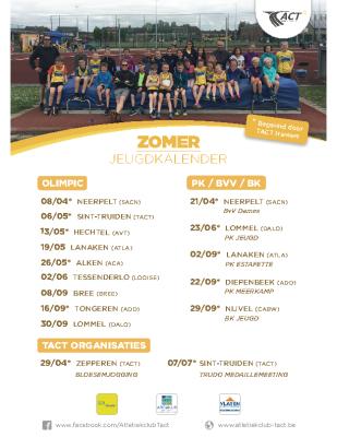 TACT-zomerkalender