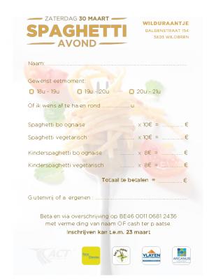 Inschrijving-spaghetti avond-A4